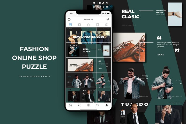 Fashion Online Shop Puzzle Instagram example image 1