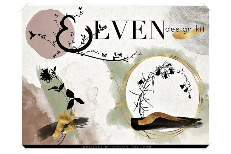 Elven - Botanical Design Bundle example image 1