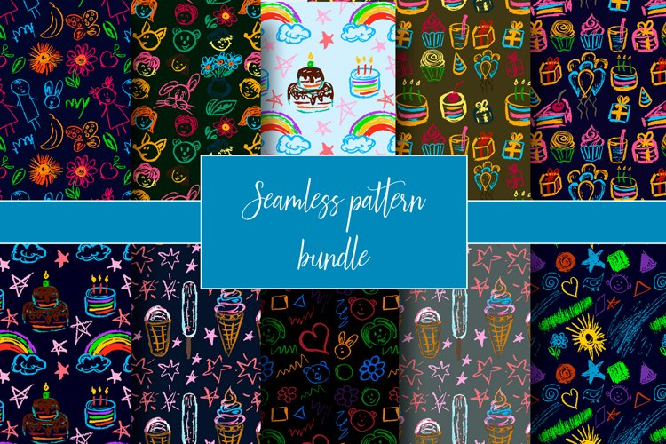 Patterns for backgrounds, textiles, tapestries