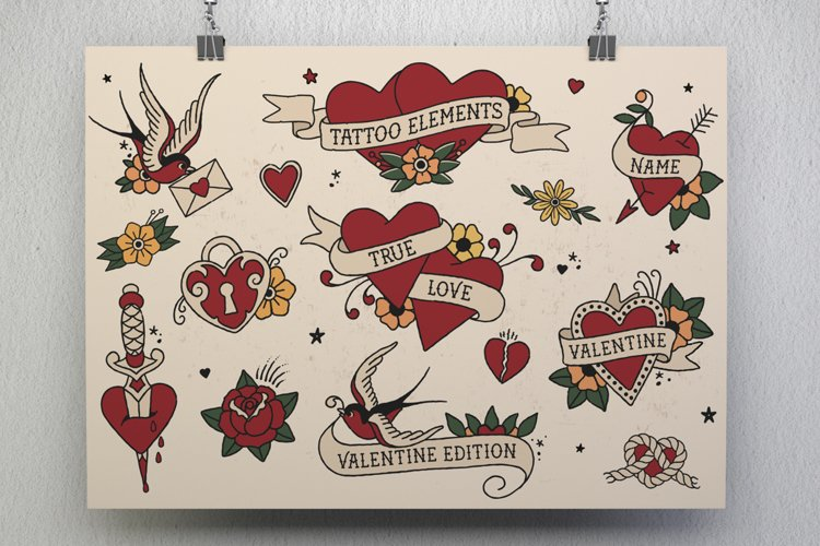 Tattoo Elements - Love Edition example image 1