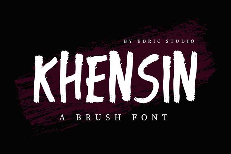KHENSIN example image 1