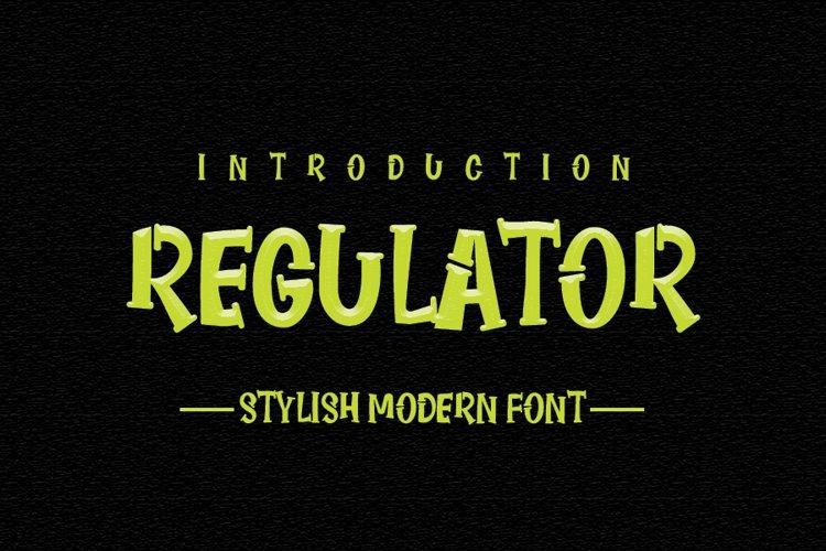 Regulator example image 1