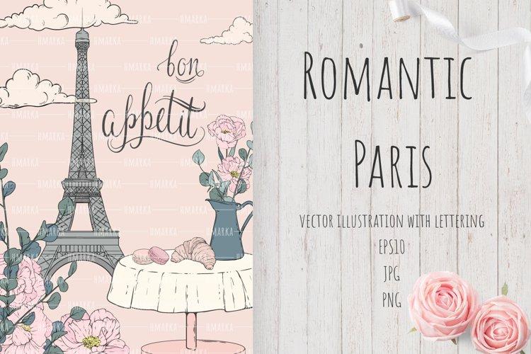 Romantic Paris Card#3 example image 1