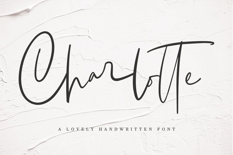 Charlotte | Handwritten Font example image 1