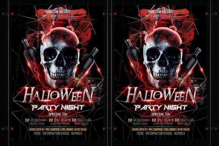 Halloween Flyer example image 1