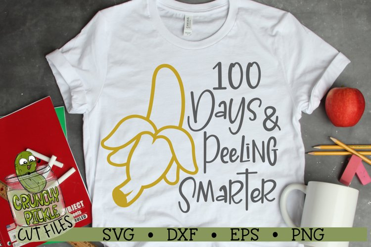 100th Day of School - Banana SVG Cut File