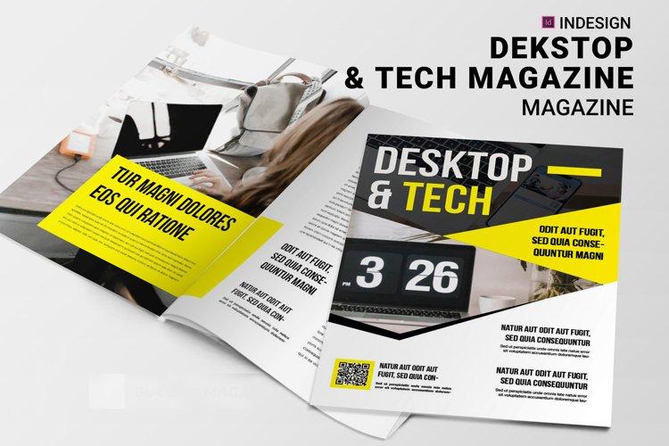 Dekstop Tech | Magazine example image 1
