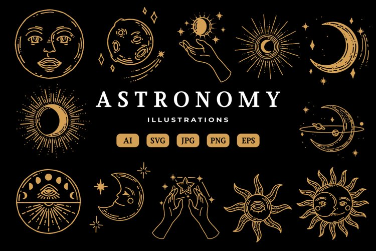 Astronomy Illustrations