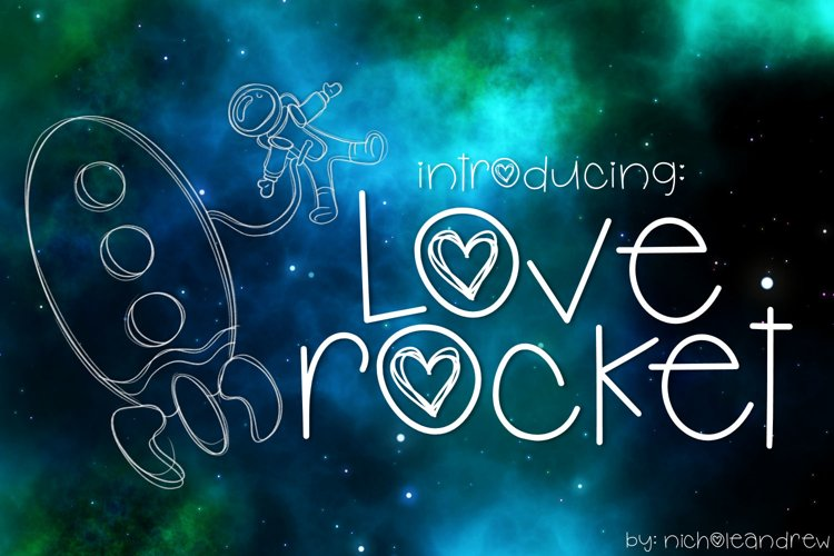 Love Rocket example image 1