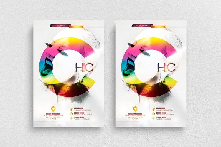 Chic Flyer Template example image 1
