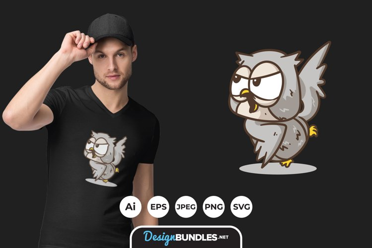 Owl Clipart for T-shirt Design