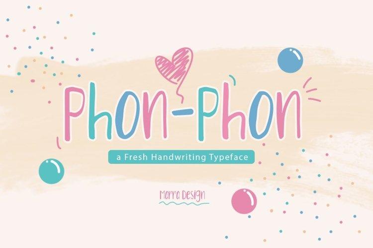 Phon - Phon  example image 1