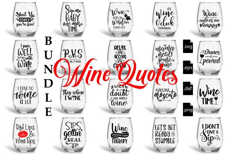 Download Wine Quotes Bundle Svg Eps Dxf Png 100501 Svgs Design Bundles