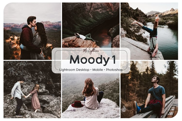 Moody Lightroom Mobile and Desktop Presets example image 1