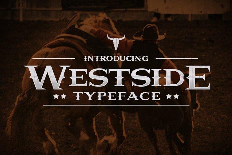 Web Font Westside example image 1