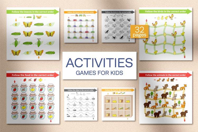 Activities. Games for kids.