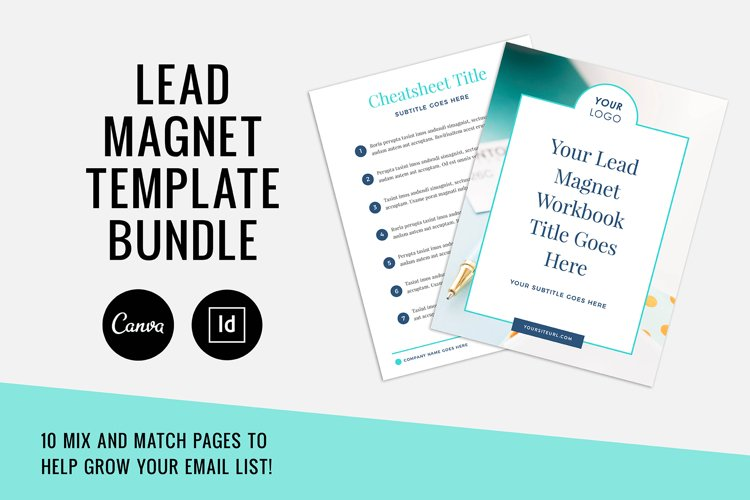 Lead Magnet / Workbook / Email Opt-In / Canva & Indd