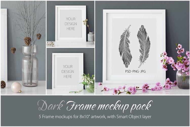 Frames Mockup 8x10 - PACK example image 1