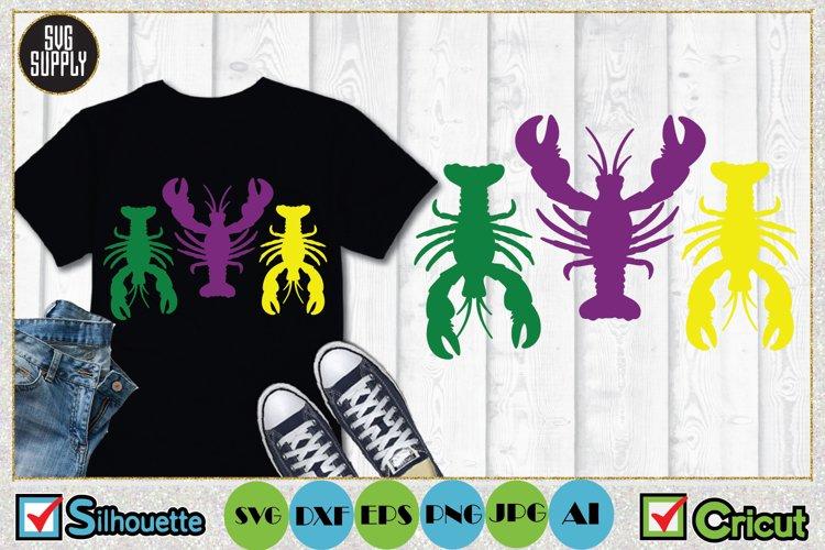 Crayfish SVG Cut File