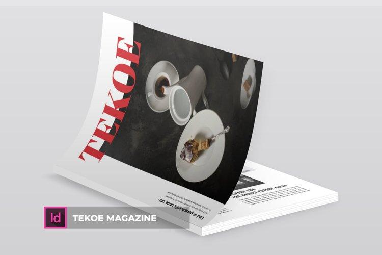 Tekoe | Magazine example image 1