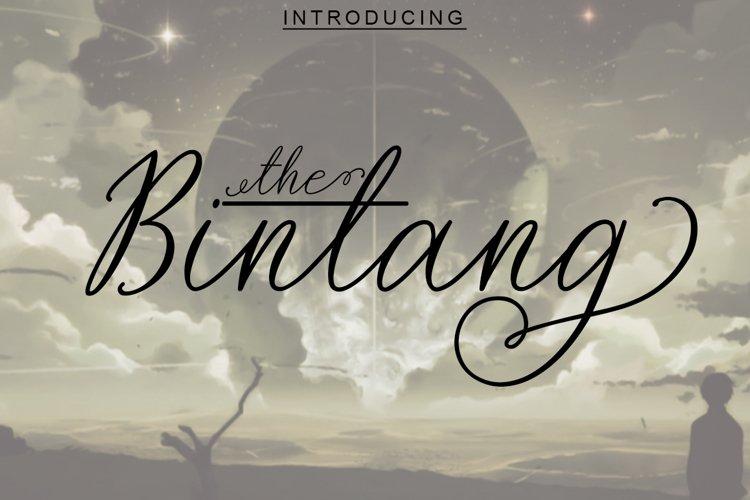 The Bintang example image 1