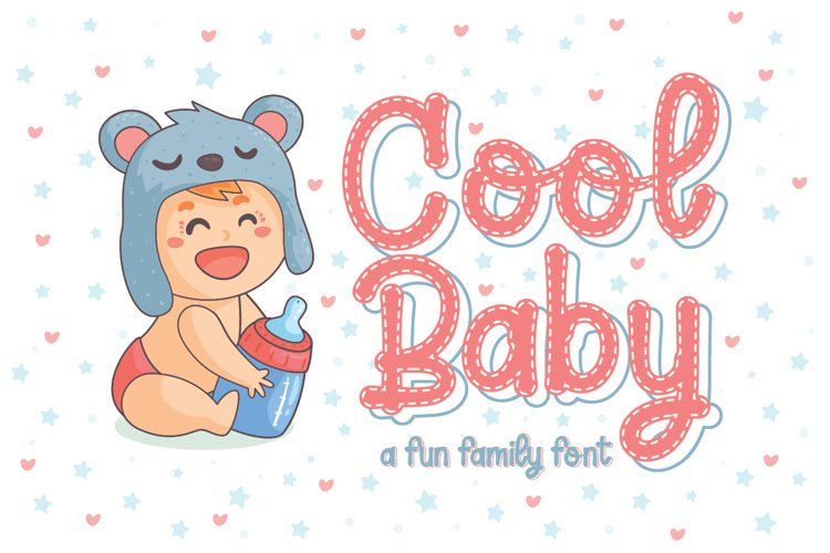Cool Baby - A Fun Family Font example image 1