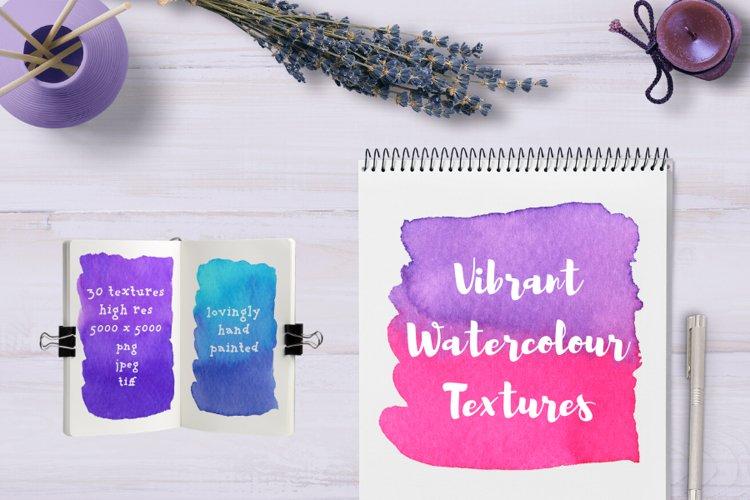 Vibrant Watercolour Textures