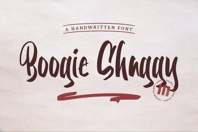 Boogie Shaggy - A Handwritten Font example image 1