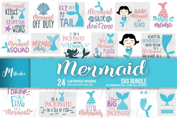 Mermaid svg Bundle.