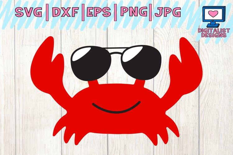 Sunglasses Crab SVG - Free Design of The Week Font