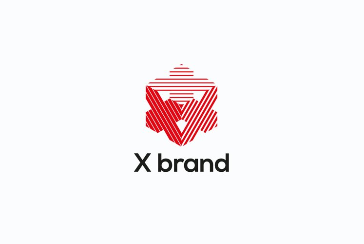 X brand logo