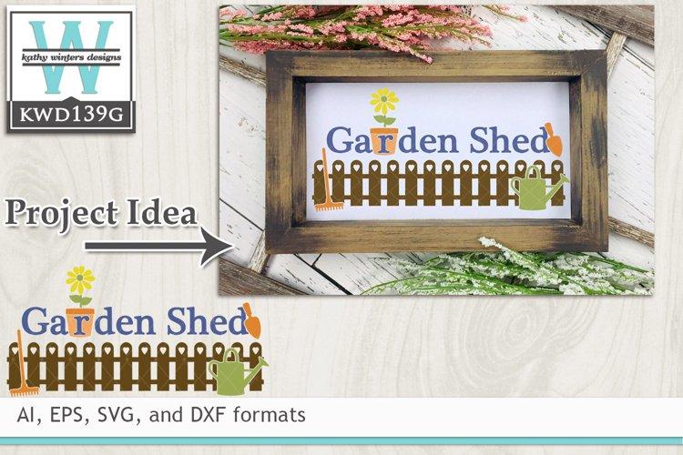 Gardening SVG - Garden Shed