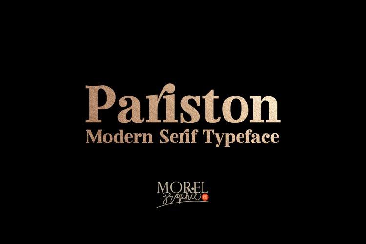 Pariston example image 1