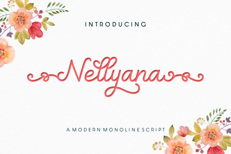 Nellyana Script example image 1
