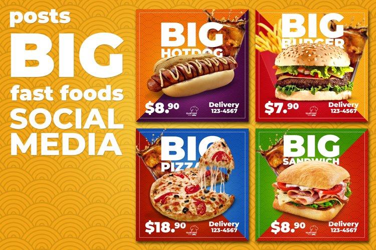 Social Media Fast Foods