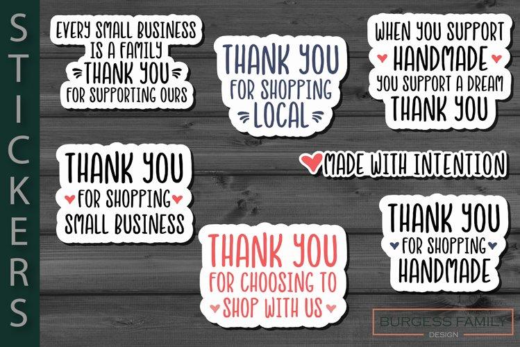 Sticker Small business bundle