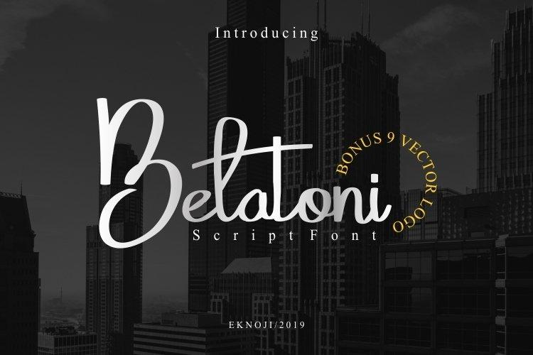 Belatoni example image 1