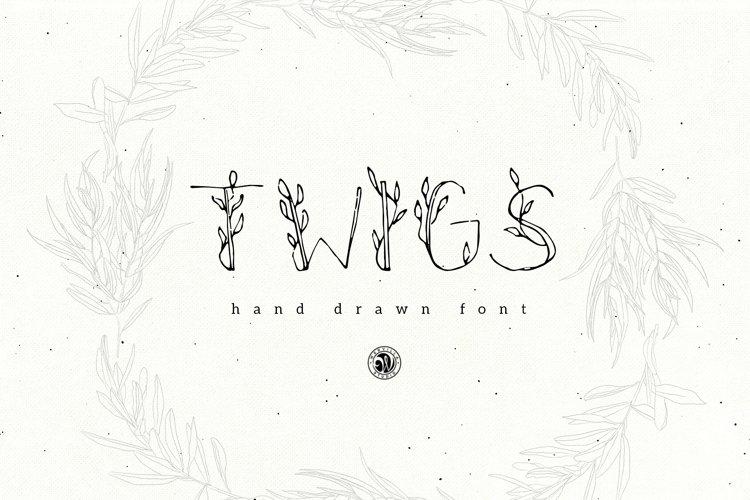 Twigs Font