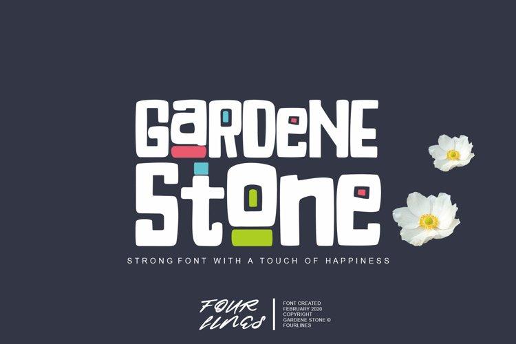 Gardene Stone example image 1