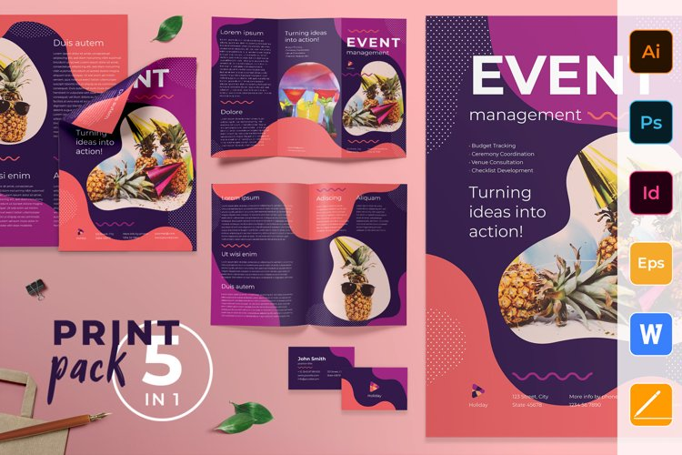 Event Management Print Pack example image 1