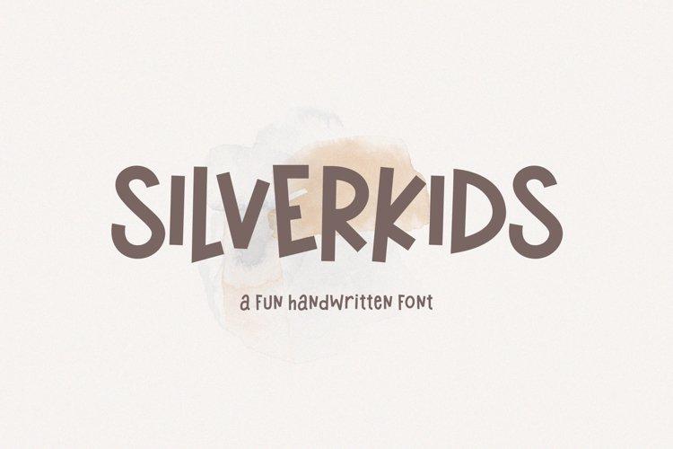 Silverkids - A Fun Handwritten Font example image 1