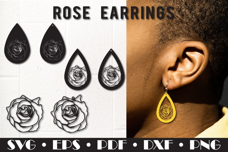 Earring template example image 1