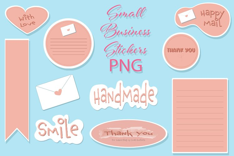 Small Business Clipart Tags Sticker Illustration