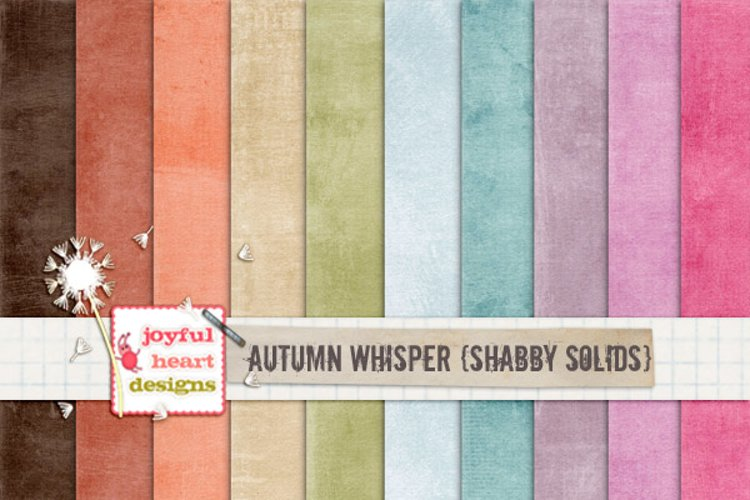 Autumn Whispers {shabby solids}
