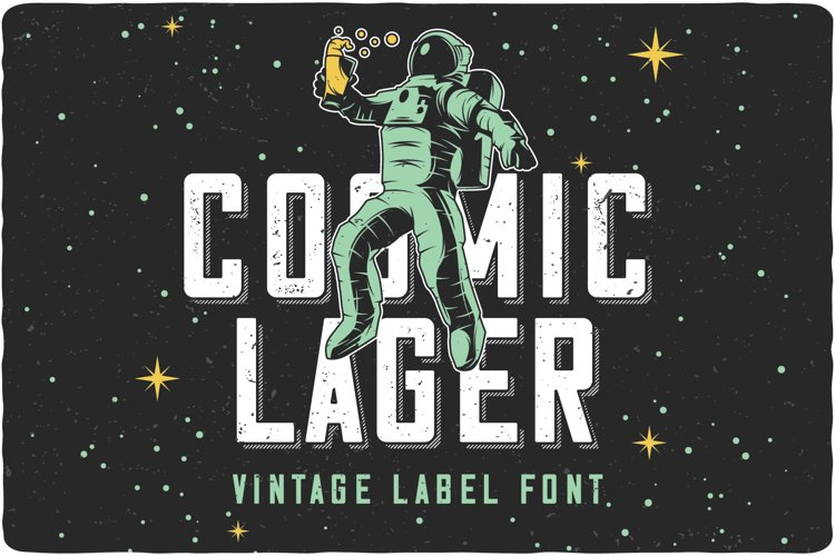 Cosmic Lager with bonus example image 1