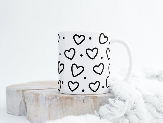 11oz mug wrap SVG bundle, coffee mug designs example 7
