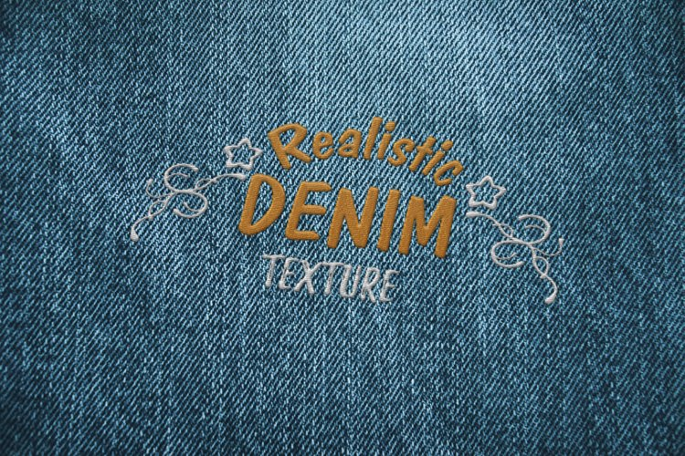 15 Denim Jean Fabric Textures JPG example 3