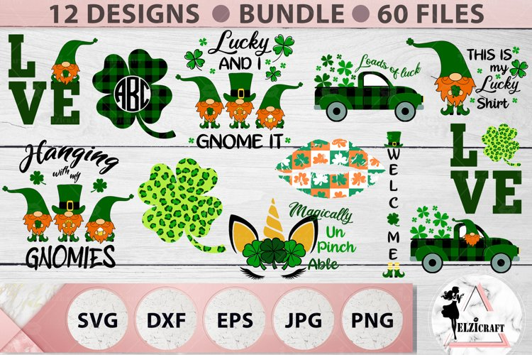 St Patrick's Day Bundle, Ireland, Irish, Shamrock, Gnome SVG example image 1