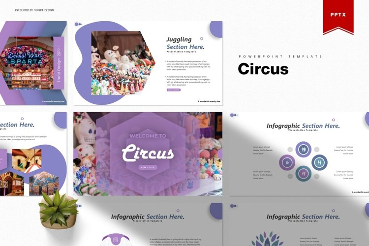 Circus | Powerpoint, Keynote, Google Slides Template example image 1