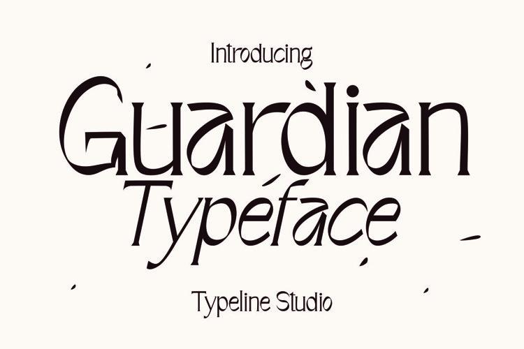 Guardian Typeface